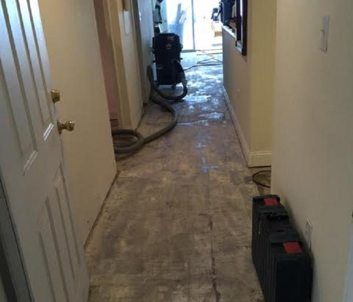 Sewage Damage in St. Augustine Condo Before