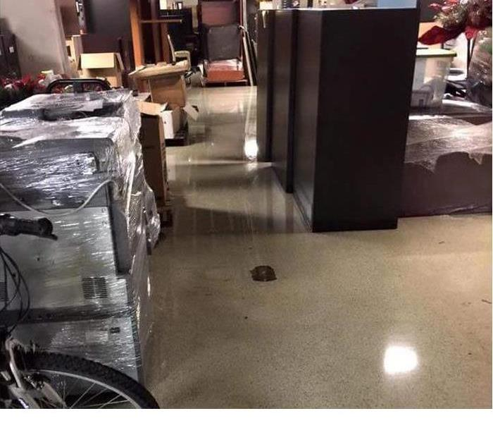 Broken Pipe Causes Water Damage at This Business Before