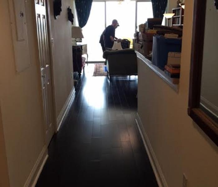 Sewage Damage in St. Augustine Condo After