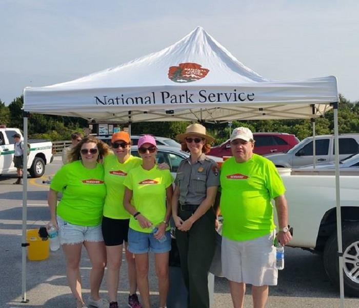 National Park Service Beach Cleanup, Fort Matanzas National Monument, April 2015