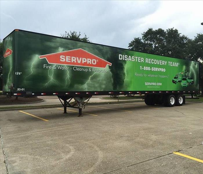 SERVPRO Never Runs Out of Equipment