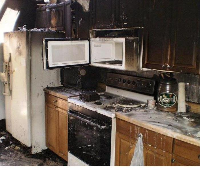Microwave Causes Kitchen Fire In St. Augustine