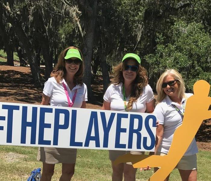 SERVPRO St. Augustine Volunteers at TPC Sawgrass